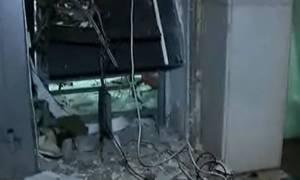 Με αέριο και βαριοπούλες λήστεψαν το ΑΤΜ στη Βαρυμπόμπη