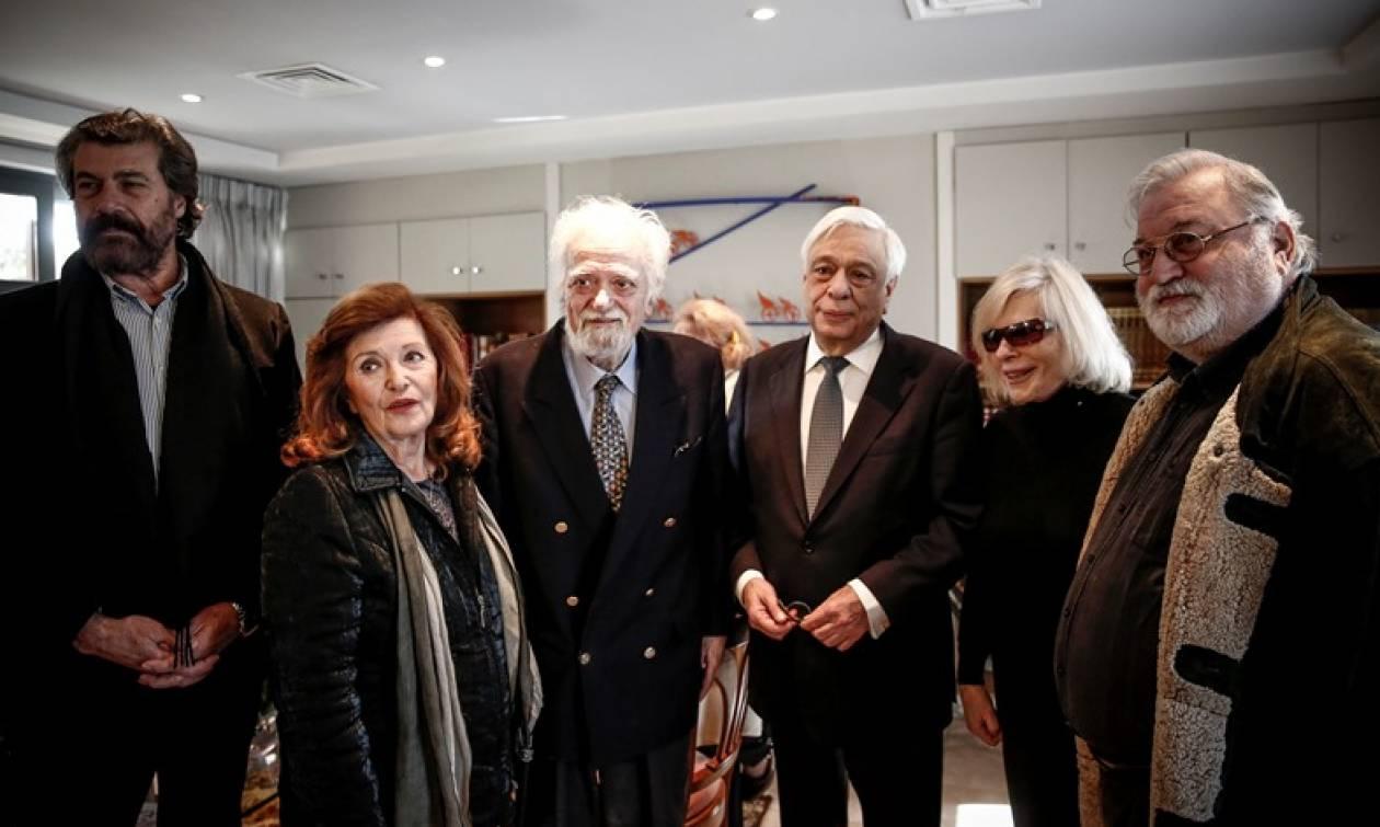 Στο «Σπίτι του Ηθοποιού» ο Προκόπης Παυλόπουλος