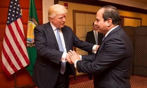 Επικοινωνία Τραμπ - Σίσι με αφορμή την επίθεση στο Κάιρο