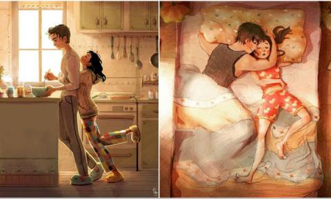 Η αγάπη κρύβεται στα μικρά πράγματα. 5 σκίτσα το αποδεικνύουν με έναν συγκινητικό τρόπο