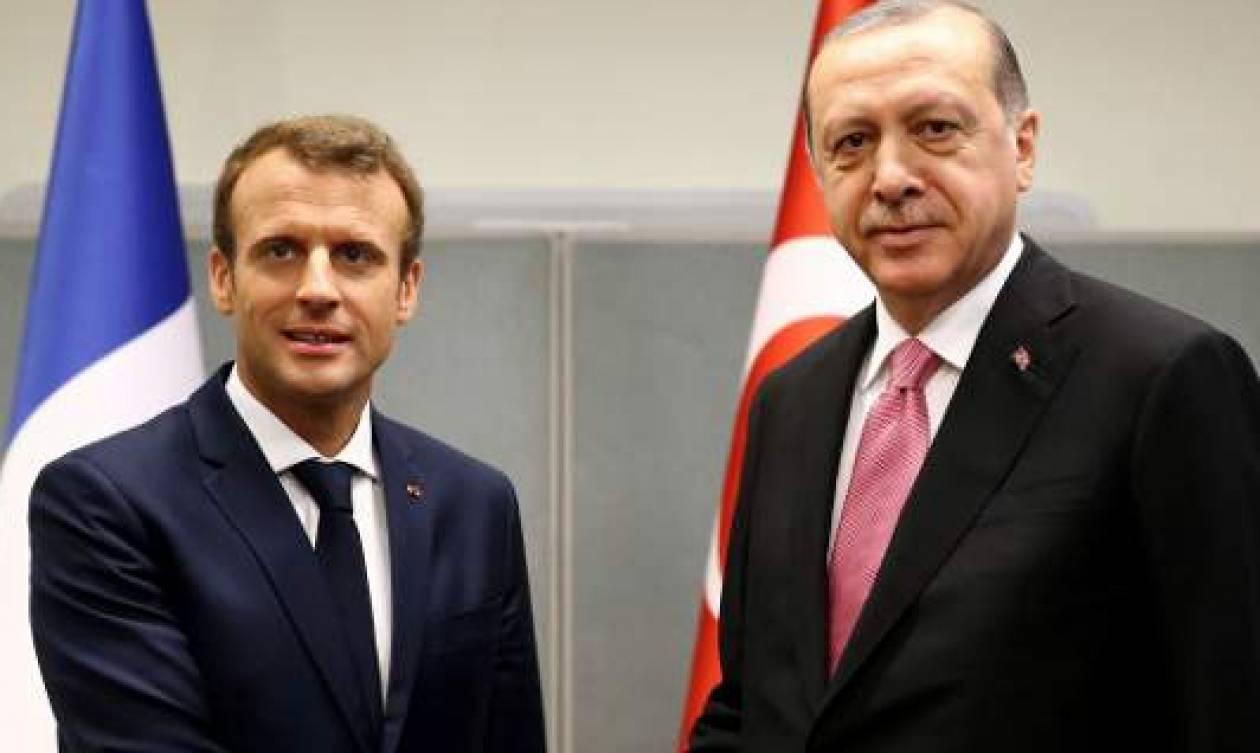 Γαλλία: «Έκλεισε» για τις 5 Ιανουαρίου η συνάντηση Μακρόν-Ερντογάν