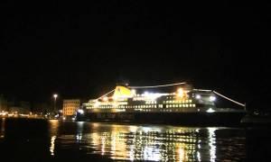 Αυτό είναι το πρώτο πλοίο που κατέπλευσε στο λιμάνι του Πειραιά το 2018