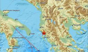 Σεισμός κοντά στην Κέρκυρα