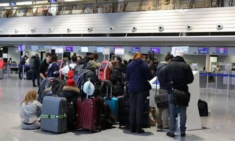 «Χάος» στο αεροδρόμιο της Φρανκφούρτης