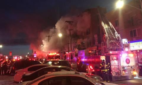 Νέα Υόρκη: Νέα μεγάλη πυρκαγιά σε πολυκατοικία στο Μπρονξ - Πολλοί τραυματίες (Pics+Vids)