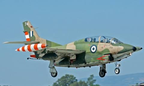 Συνετρίβη αεροσκάφος της Πολεμικής Αεροπορίας (pics&vid)