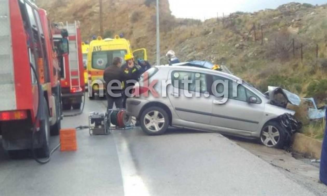 Ανείπωτη τραγωδία στην άσφαλτο - Τρεις νεκροί σε τροχαίο στην Κρήτη