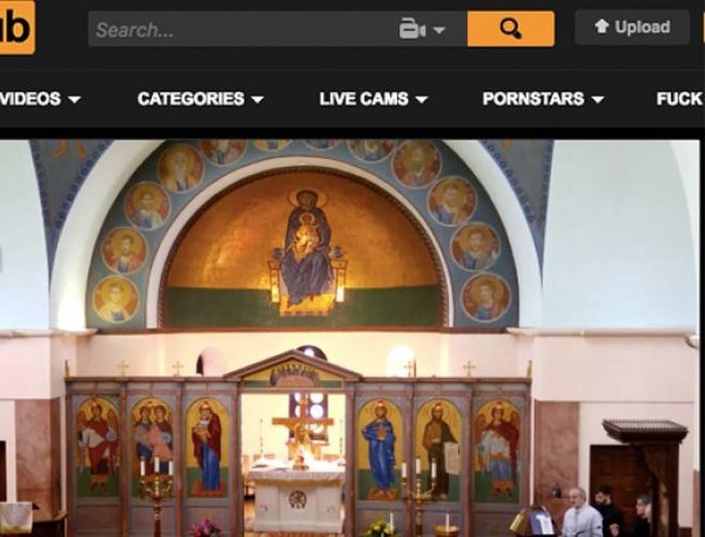 Απίστευτο: Βίντεο με δοξολογίες της εκκλησίας σε site πορνογραφικού υλικού (pics)