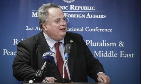 Κοτζιάς για Σκόπια: Η κυβέρνηση υποστηρίζει τη λύση μιας σύνθετης ονομασίας (vid)
