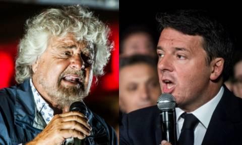 Ιταλία: Πρώτος ο Μπέπε Γκρίλο στις δημοκοπήσεις – Κινδυνεύει η κεντροαριστερά