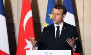 «Χαστούκι» Μακρόν σε Ερντογάν για την ένταξη της Τουρκίας στην Ευρωπαϊκή Ένωση