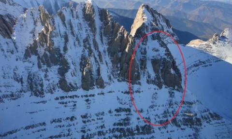 Ώρες αγωνίας για την ορειβάτισσα στον Όλυμπο: Νυχτερινή επιχείρηση από Super Puma