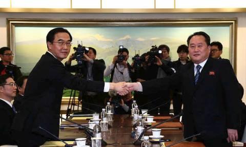 Οι Ολυμπιακοί Αγώνες φέρνουν «κοντά» τη Βόρεια και τη Νότια Κορέα