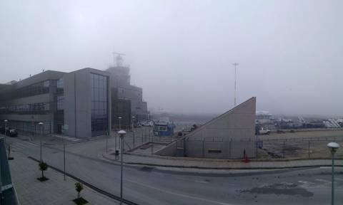 Προβλήματα στο αεροδρόμιο «Μακεδονία» λόγω ομίχλης
