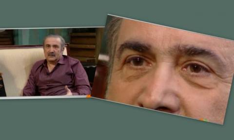 Λάκης Λαζόπουλος: Λύγισε on camera όταν μίλησε για τη μητέρα του
