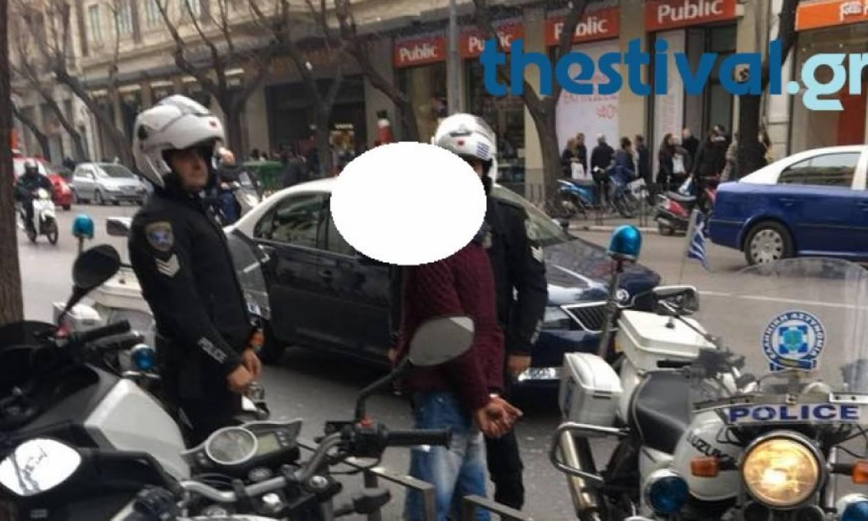 Θεσσαλονίκη: Εντόπισαν κλέφτη μετά από κινητοποίηση στο Facebook (pic)