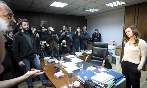 Το «ντου» του ΚΚΕ, η Αχτσιόγλου και το δικαίωμα στην απεργία