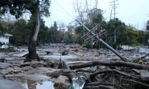 ΗΠΑ: Τουλάχιστον οκτώ νεκροί σε κατολισθήσεις λάσπης στην Καλιφόρνια (pics+vids)