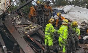 Καλιφόρνια: Μετά τις φονικές πυρκαγιές, τόνοι λάσπης «πνίγουν» την πολιτεία - 13 νεκροί (pics&vids)