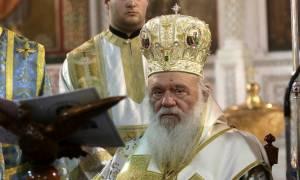 Αρχιεπίσκοπος Ιερώνυμος για Σκόπια: Η Εκκλησία δεν μπορεί να αδιαφορήσει για το όνομα