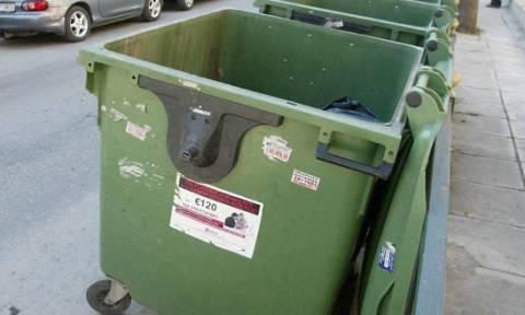 Αποτρόπαιο: Φριχτό θέαμα σε κάδο σκουπιδιών στο Ηράκλειο (pics)