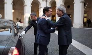 Τι συζήτησαν Τσίπρας και Τζεντιλόνι στη Ρώμη