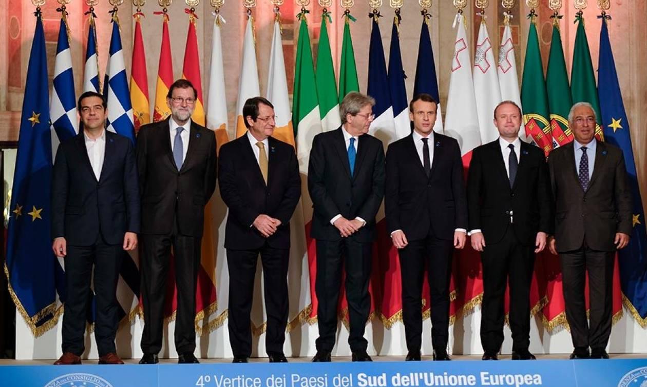 Η κοινή διακήρυξη της Συνόδου των χωρών του Νότου της ΕΕ