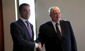 Σε κρίσιμη καμπή το Σκοπιανό: Τετ-α-τετ Κοτζιά με Ντιμιτρόφ στην Αθήνα