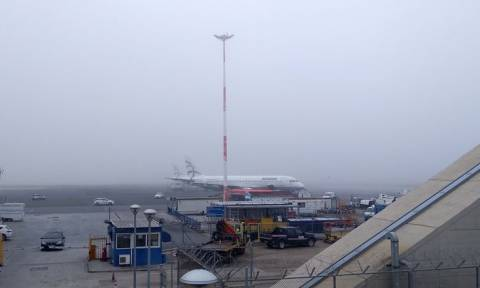 Θεσσαλονίκη: Τρίτη ημέρα προβλημάτων στο αεροδρόμιο «Μακεδονία» λόγω ομίχλης