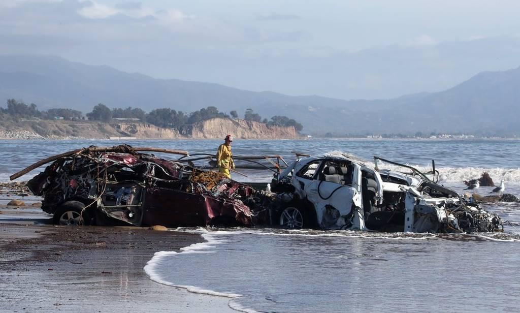 Στιγμές αγωνίας - Καλιφόρνια: Μάχη με τον χρόνο για επιζώντες κάτω από συντρίμμια και τόνους λάσπης