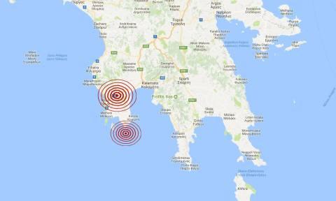 Σεισμός: Διπλή δόνηση κοντά στην Πύλο