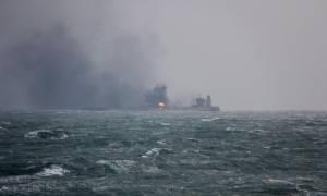 Το φλεγόμενο ιρανικό δεξαμενόπλοιο εισήλθε ακυβέρνητο στην ιαπωνική ΑΟΖ