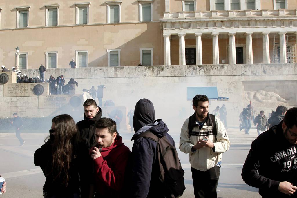 ΕΚΤΑΚΤΟ: Επεισόδια στο κέντρο της Αθήνας
