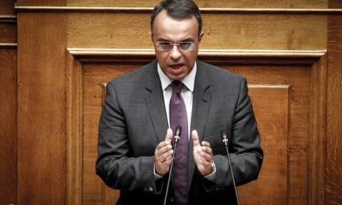 Βουλή - Σταϊκούρας: Ούτε καθαρή έξοδος θα έρθει ούτε βελτίωση της οικονομίας συμβαίνει