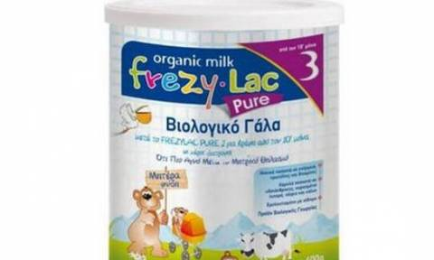 Κρούσμα σαλμονέλας στην Ελλάδα από το βρεφικό γάλα Frezylac