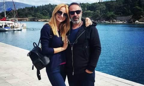 Η συγκινητική εξομολόγηση της Κάκκαβα για τον σύζυγό της, Γρηγόρη Γκουντάρα