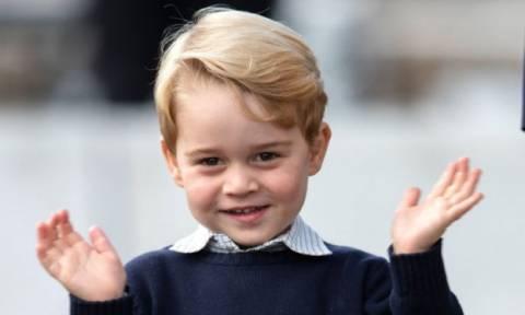 Αυτά περιλαμβάνει το... βασιλικό γεύμα του μικρού πρίγκιπα George