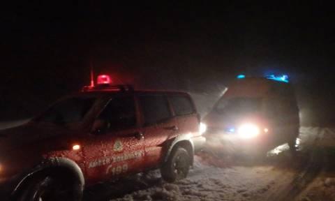 Πήλιο: Αίσιο τέλος στην αναζήτηση του 55χρονου στα χιονισμένα Χάνια (pics)