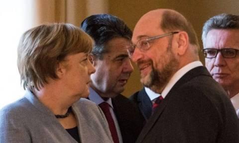 Οι μισοί Γερμανοί δεν θέλουν μεγάλο συνασπισμό Σοσιαλδημοκρατών και Χριστιανοδημοκρατών