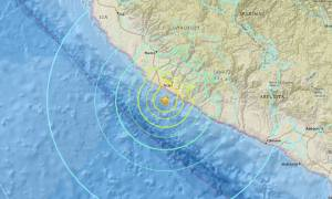 Περού: Τραυματίες και υλικές ζημιές από τον σεισμό 7,1 Ρίχτερ (vid)