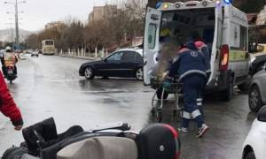 Θεσσαλονίκη: Έκανε παράνομη αναστροφή, τον χτύπησε και τον εγκατέλειψε