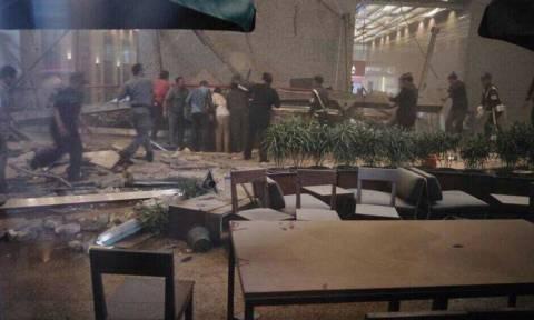 Πανικός στην Ινδονησία: Κατέρρευσε όροφος στο χρηματιστήριο - Πολλοί οι τραυματίες