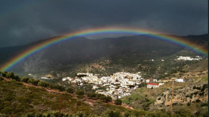 Κρήτη: Όταν ο Θεός της φύσης «ζωγραφίζει» … στη Βιάννο