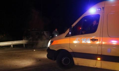Κρήτη: Τροχαίο ατύχημα με εγκλωβισμό στον ΒΟΑΚ