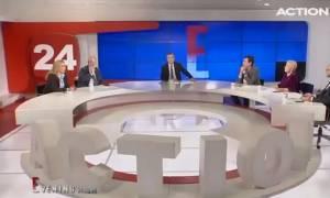 Σεισμός Αθήνα - Συγκλονιστικό βίντεο: Η στιγμή του σεισμού των 4,4 Ρίχτερ στον «αέρα» εκπομπής
