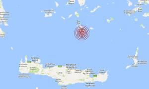Σεισμός νότια της Σαντορίνης
