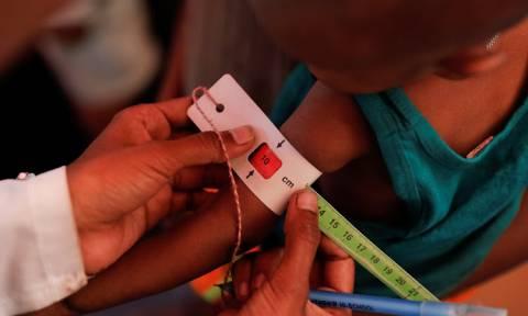 Παπούα Νέα Γουινέα: Δεκάδες μωρά έχουν πεθάνει από υποσιτισμό και ιλαρά