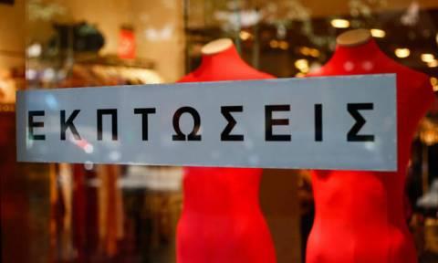Ύστατη προσπάθεια από τους εμπόρους - Μεγάλα τα ποσοστά των εκπτώσεων στα καταστήματα