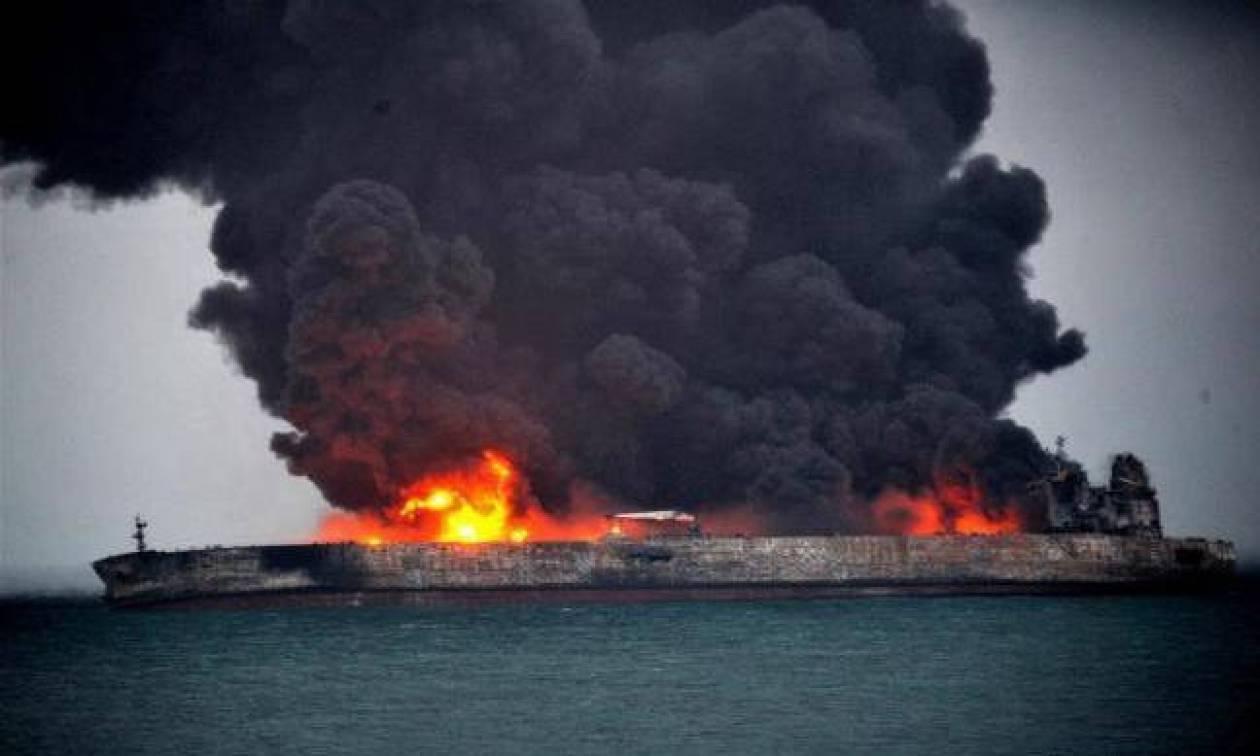 Κίνα: Δύο πετρελαιοκηλίδες σχηματίστηκαν μετά το ναυάγιο του ιρανικού δεξαμενόπλοιου