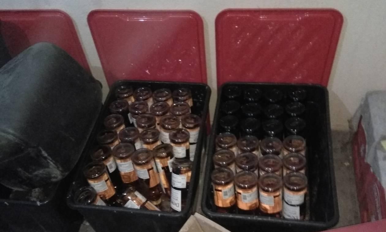 Στη «φάκα» του ΣΔΟΕ κυκλώματα παράνομης διακίνησης αλκοόλ και καπνού (pics)
